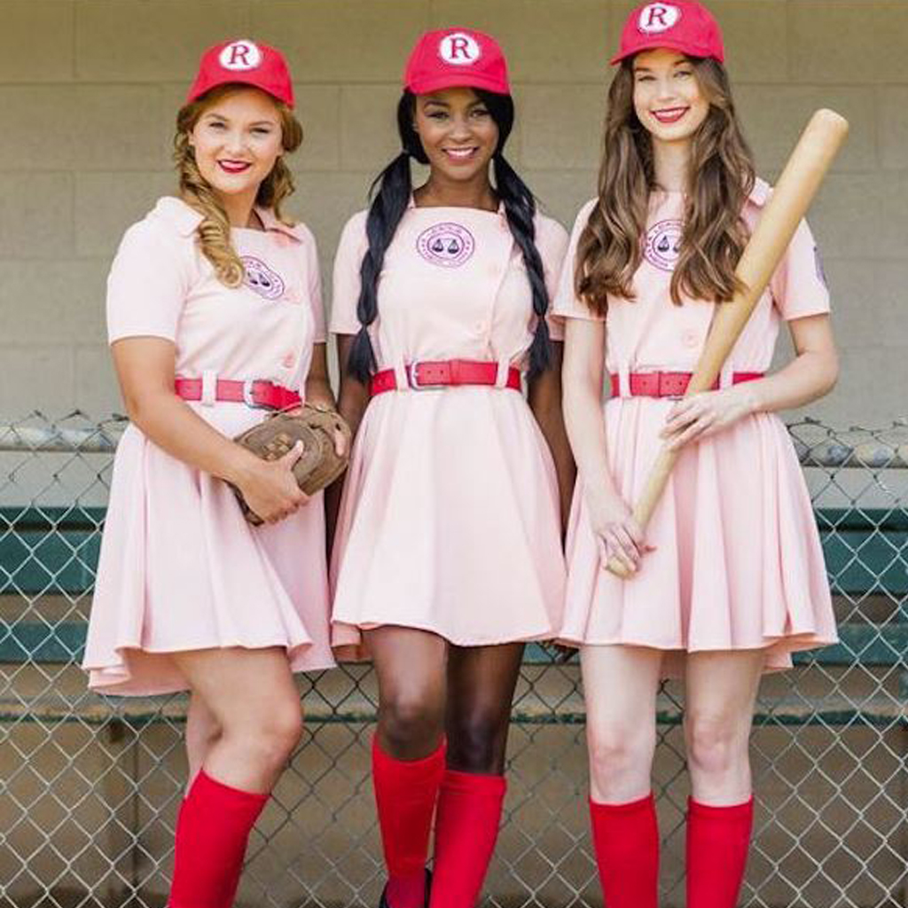 The officially ...  sc 1 st  Costume Agent & AAGPBL Rockford Peaches Costume Uniform