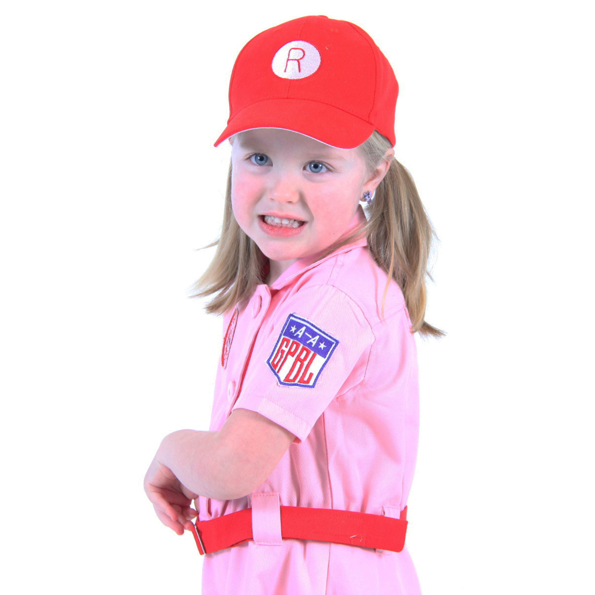 Now families can complete the costume ...  sc 1 st  Costume Agent & AAGPBL Kids Rockford Peaches Uniform