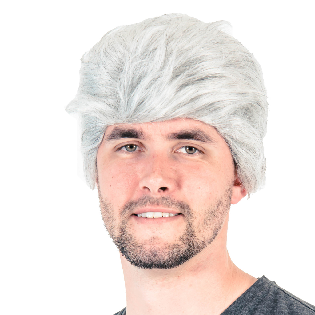 Adult Talk Show Host Wig