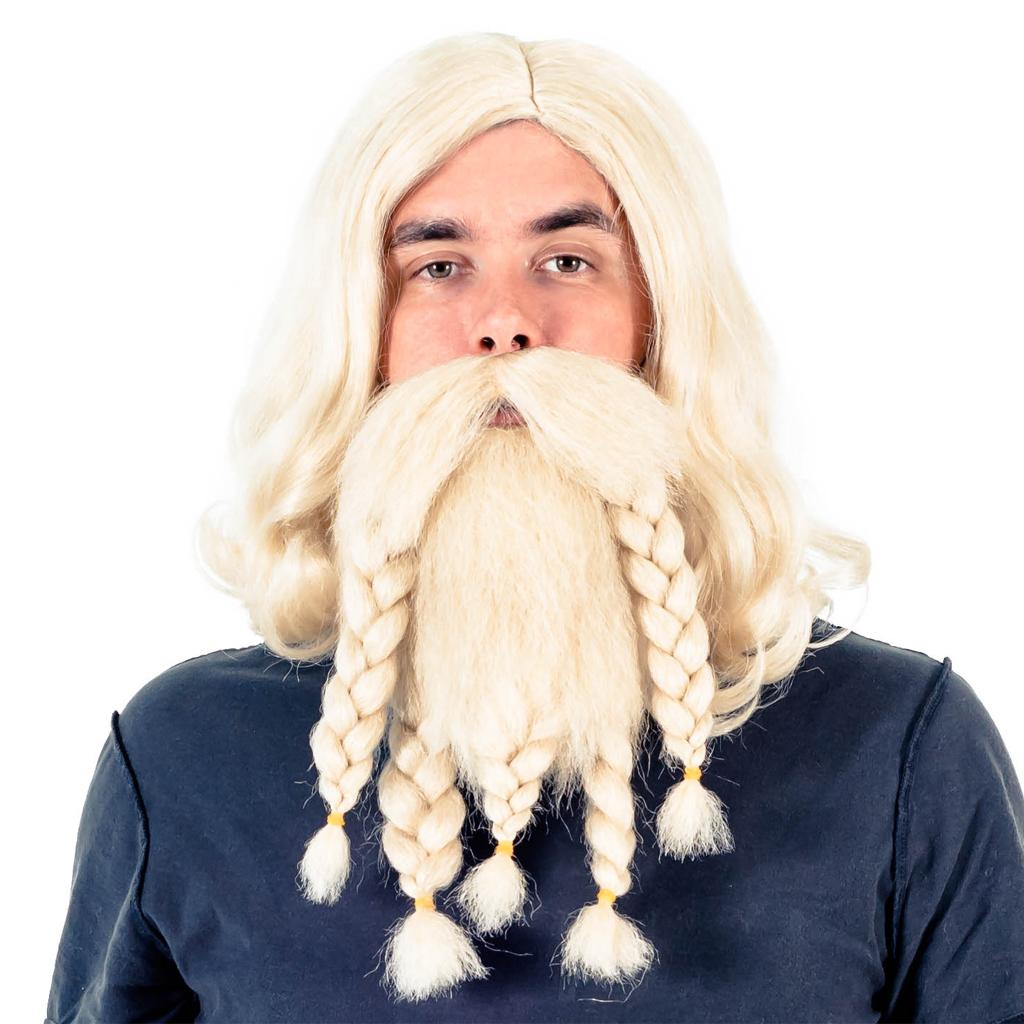 Grab ...  sc 1 st  Costume Agent & Adult Blonde Viking Wig u0026 Beard Set   Costume Agent