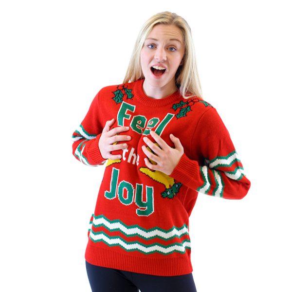 Feel the Joy Ugly Christmas
