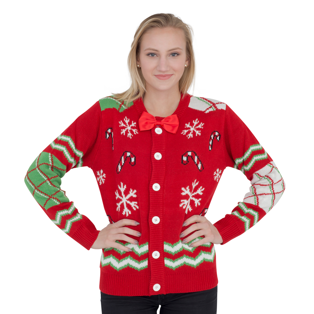 dressing - Red Ugly Christmas Sweater