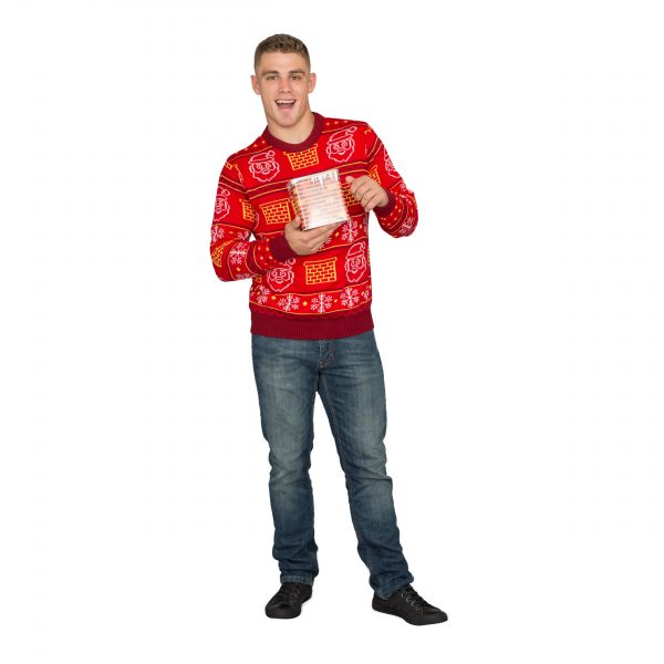 3D Jack in the Box Ugly Christmas Sweater